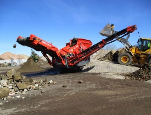 Terex Finlay 863 mobilt sorteringsanlæg