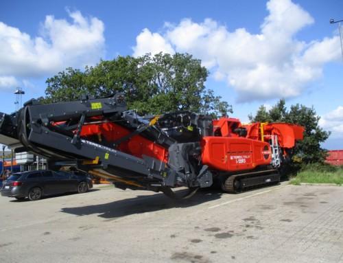 Terex Finlay I-120RS slagleknuser